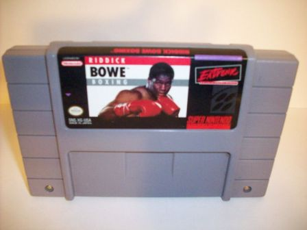 Riddick Bowe Boxing - SNES Game